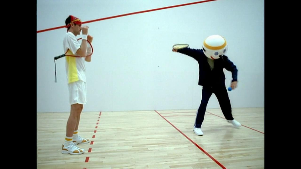 Jack in the Box TV Commercial, 'Raquetball'
