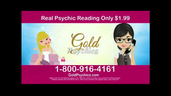 Gold Psychics TV Spot - Thumbnail 4