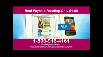 Gold Psychics TV Spot - Thumbnail 5