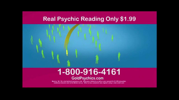 Gold Psychics TV Spot - Thumbnail 7