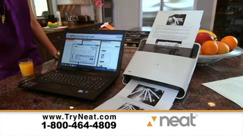 Neat Desk and Receipts TV Spot, 'Our Organization'