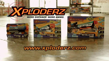 Xploderz TV Spot, 'Xploderz vs Foam'