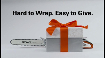 STIHL TV Spot \'Hard to Wrap\'