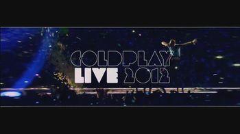 Coldplay Live 2012 TV Spot