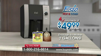 Esio Hot & Cold Beverage System TV Spot - Thumbnail 9