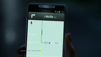 Motorola Droid Razr TV Spot, 'Grandma's House' - Thumbnail 4