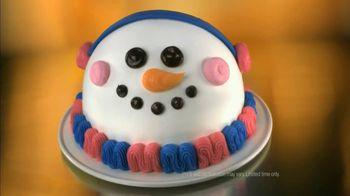 Baskin-Robbins Holiday Cake TV Spot, 'Countdown'