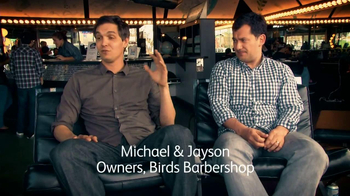 Intuit QuickBooks GoPayment TV Spot, 'Barbershop Owners'