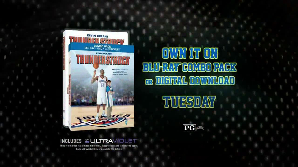 Thunderstruck Blu-Ray and DVD TV Commercial
