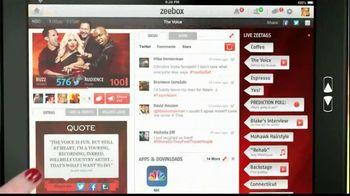 Zeebox TV Spot, 'Woah'