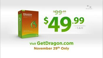 Nuance Dragon TV Spot, 'Amazing Deal'
