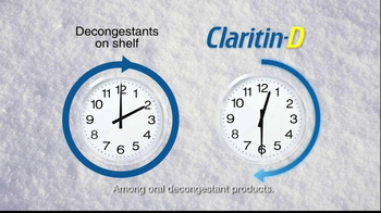 Claritin D TV Spot, 'Snow Plow' - Thumbnail 9