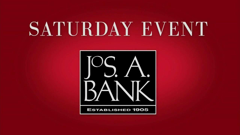 JoS. A. Bank Saturday Event TV Commercial, 'Suits, Dress Shirts, Ties'