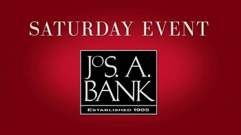 JoS. A. Bank Saturday Event TV Spot, 'Suits, Dress Shirts, Ties' - 4 commercial airings