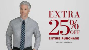 JoS. A. Bank Saturday Event TV Spot, 'Suits, Dress Shirts, Ties' - Thumbnail 9