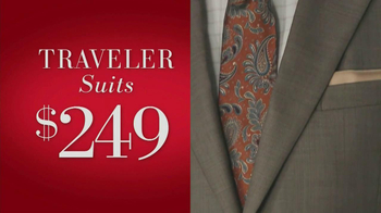 JoS. A. Bank Saturday Event TV Spot, 'Suits, Dress Shirts, Ties' - Thumbnail 2