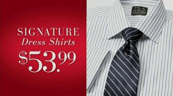 JoS. A. Bank Saturday Event TV Spot, 'Suits, Dress Shirts, Ties' - Thumbnail 3