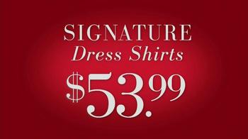 JoS. A. Bank Saturday Event TV Spot, 'Suits, Dress Shirts, Ties' - Thumbnail 4
