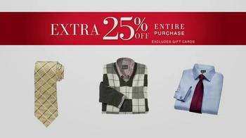 JoS. A. Bank Saturday Event TV Spot, 'Suits, Dress Shirts, Ties' - Thumbnail 6
