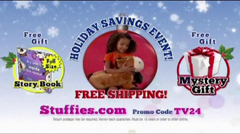 Stuffies Holiday Savings Event TV Spot, 'Tongue Twisters' - Thumbnail 9