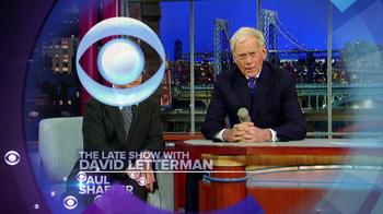 CBS TV Spot Featuring  Paul Shaffer and David Letterman - Thumbnail 1