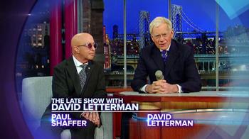 CBS TV Spot Featuring  Paul Shaffer and David Letterman - Thumbnail 2