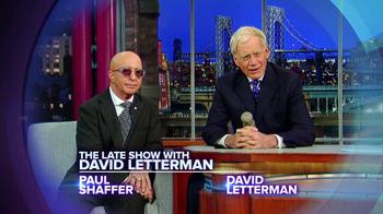 CBS TV Spot Featuring  Paul Shaffer and David Letterman - Thumbnail 3