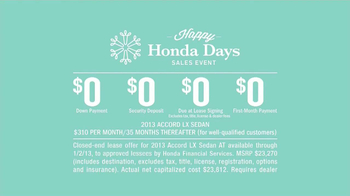 Honda Holidays Sales Event TV Spot, 'Dear Honda: Stubborn Dad' - Thumbnail 7