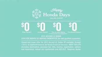 Honda Holidays Sales Event TV Spot, 'Dear Honda: Stubborn Dad' - Thumbnail 7