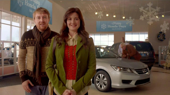 Honda Holidays Sales Event TV Spot, 'Dear Honda: Stubborn Dad' - Thumbnail 1