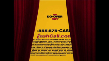 Cash Call Do-Over Refi TV Spot, \'3.50%\'