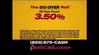 Cash Call Do-Over Refi TV Spot, '3.50%' - Thumbnail 6