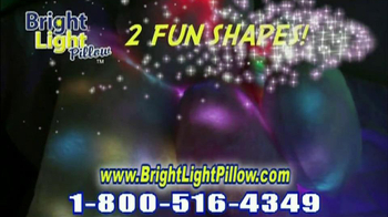 Bright Light Pillow Infomercial, 'Afraid of the Dark' - Thumbnail 6