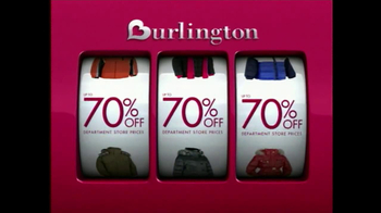 Burlington Coat Factory TV Spot, 'Savings Jackpot' - Thumbnail 3