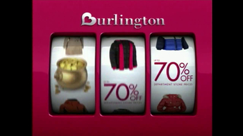 Burlington Coat Factory TV Spot, 'Savings Jackpot' - Thumbnail 4
