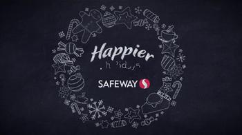Safeway TV Spot, 'Happier Holidays' - Thumbnail 1