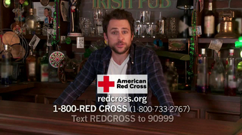 American Red Cross TV Spot Featuring Charlie Day - Thumbnail 3