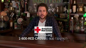 American Red Cross TV Spot Featuring Charlie Day - 2 commercial airings
