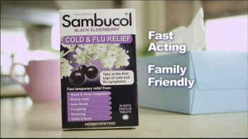 Sambucol Black Elderberry TV Spot, 'Family' Featuring Soleil Moon Frye - 38 commercial airings
