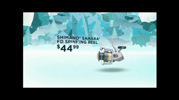 Cabela's Christmas Sale TV Spot, 'Fishing Reel' - Thumbnail 4