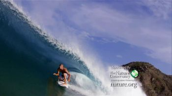 Nature Conservancy TV Spot Featuring Kelly Slater - 11 commercial airings