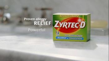 Zyrtec D TV Spot 'Dear Cat' - Thumbnail 5