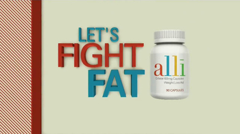 Alli TV Spot, 'Fight Holiday Fat' - Thumbnail 10