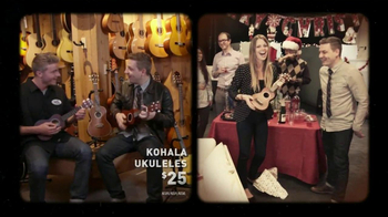 Guitar Center TV Spot, 'Bullet Strat, Ukuleles' - Thumbnail 8