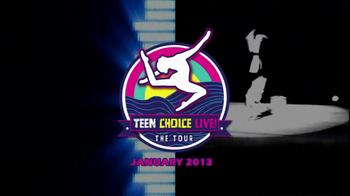 Teen Choice Live! The Tour TV Spot Featuring Gabby Douglas, Aly Raisman - Thumbnail 1