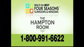 Four Seasons Sunrooms Hampton Room TV Spot - Thumbnail 6