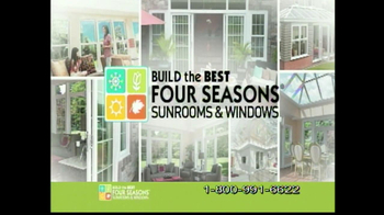 Four Seasons Sunrooms Hampton Room TV Spot