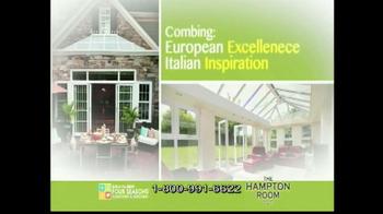 Four Seasons Sunrooms Hampton Room TV Spot - Thumbnail 4