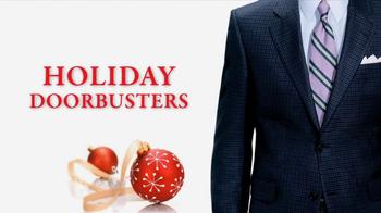 JoS. A. Bank Saturday Sale TV Spot, 'Holiday Doorbusters' - Thumbnail 10