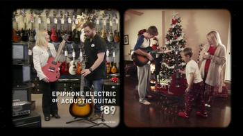 Guitar Center TV Spot, 'Epiphone Electric or Acoustic Guitar' - Thumbnail 5